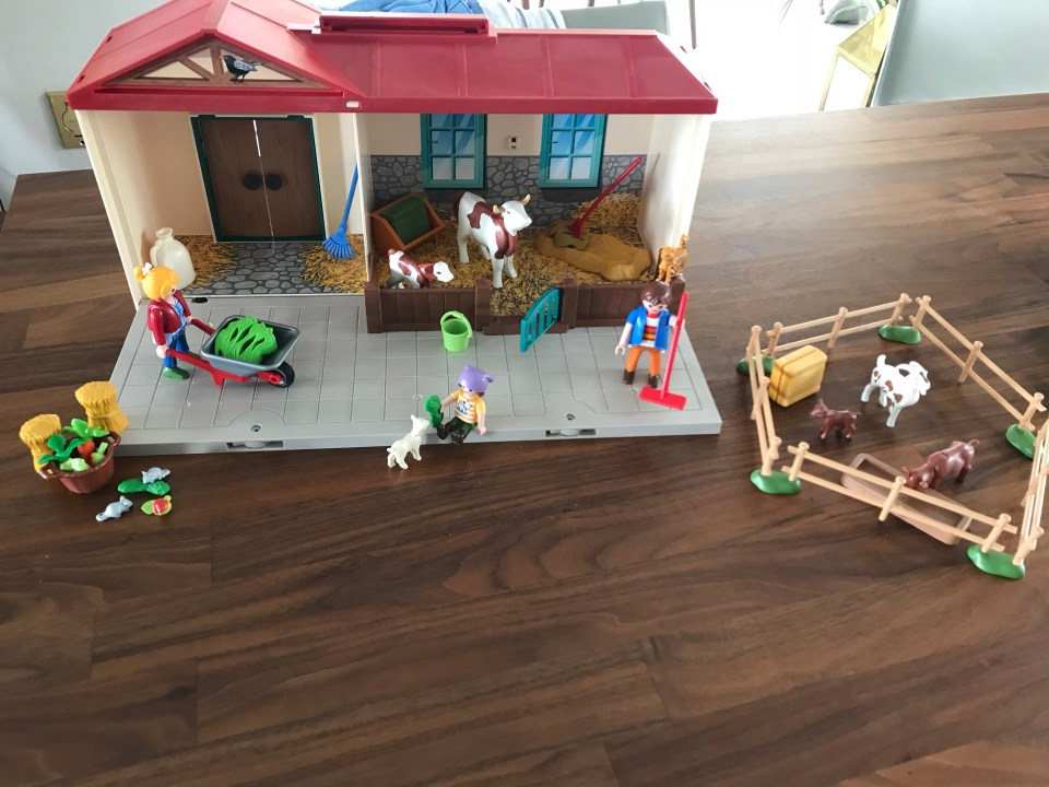 Review of Playmobil Take Along Farm 4897