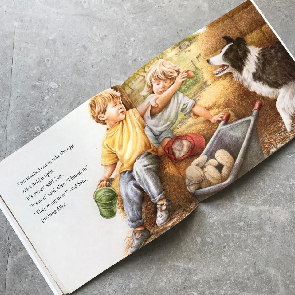 Friends by Kim Lewis - children's farm book