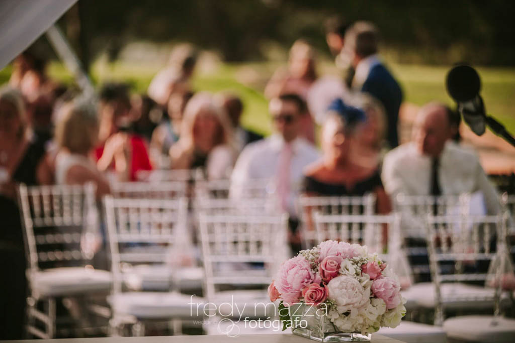 Wedding flowers La Manga Club Resort