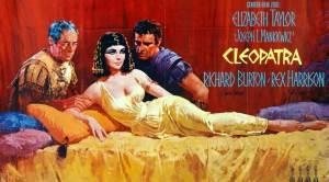 poster película de cleopatra