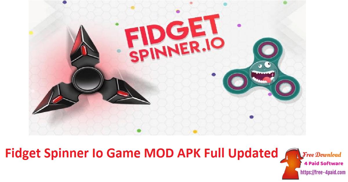 Fidget Spinner Io Game MOD APK Full Updated