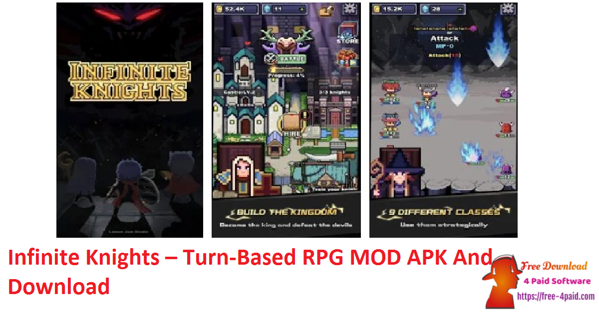 Infinite Knights – Turn-Based RPG MOD APK And Download