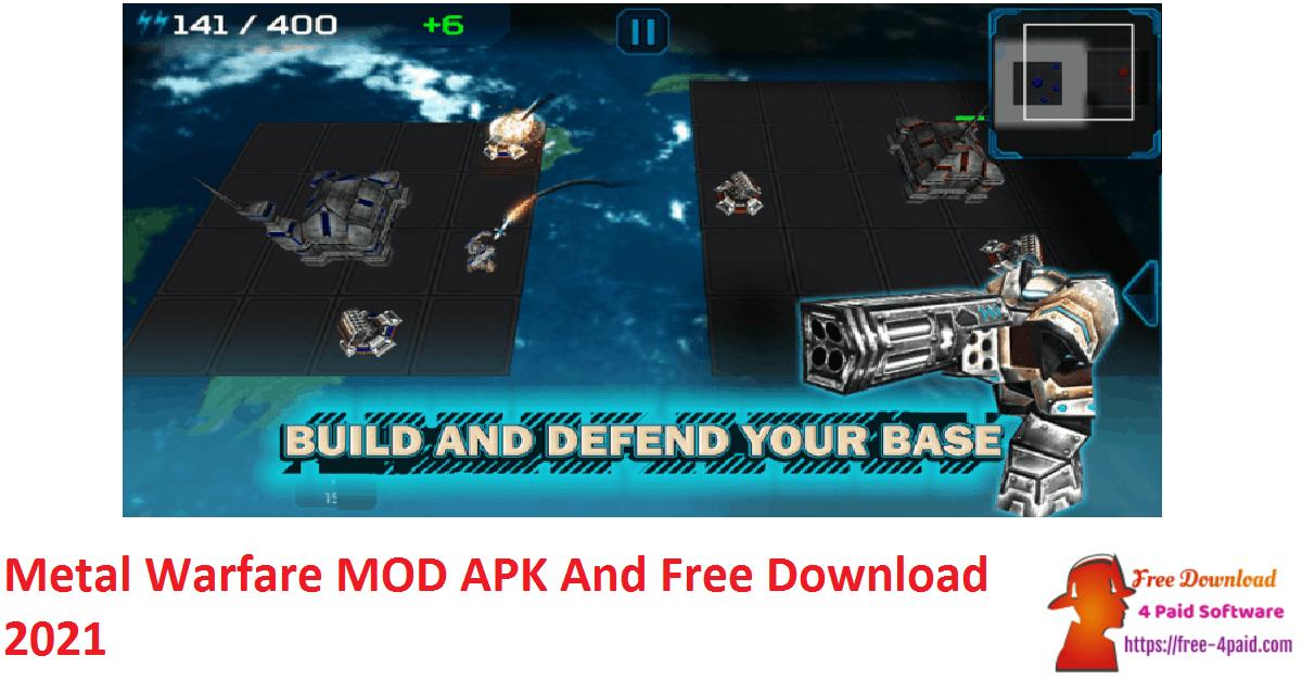 Metal Warfare MOD APK And Free Download 2021