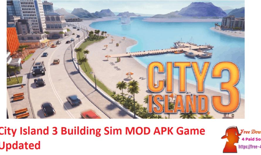 City Island 3 Building Sim 3.3.1 Crack MOD APK Game [Updated]