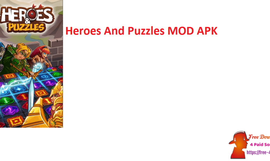 Heroes And Puzzles 2.0.0.603 MOD APK [Updated]