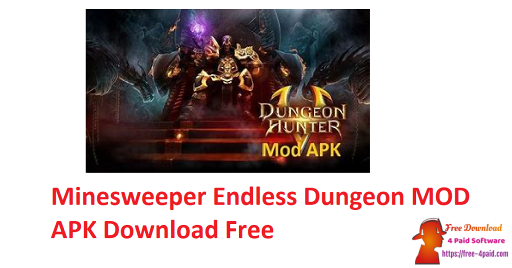 Minesweeper Endless Dungeon MOD APK Download Free