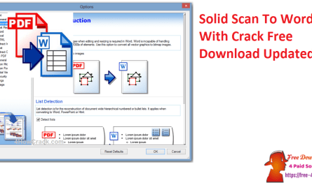 Solid Scan To Word With Crack Free Download Updated