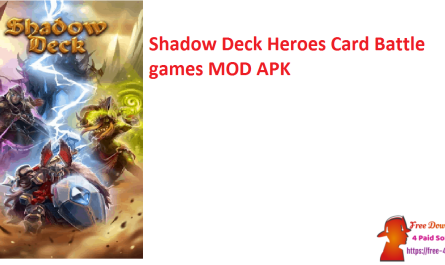 Shadow Deck Heroes Card Battle games MOD APK