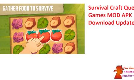 Survival Craft Quest Games MOD APK Download Updated