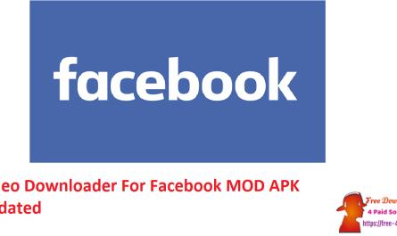 Video Downloader For Facebook MOD APK Updated