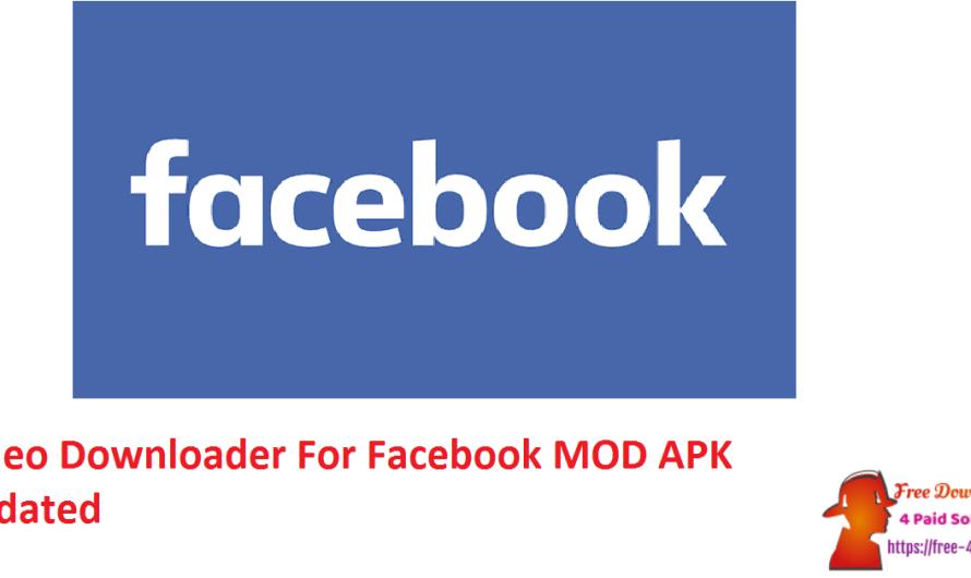 Video Downloader For Facebook 5.2.0 MOD APK [Updated]