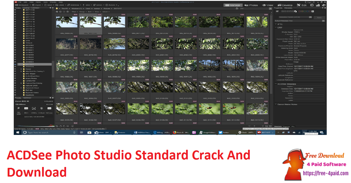 ACDSee Photo Studio Standard Crack And Download