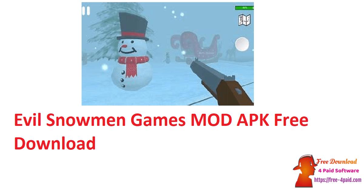 Evil Snowmen Games MOD APK Free Download