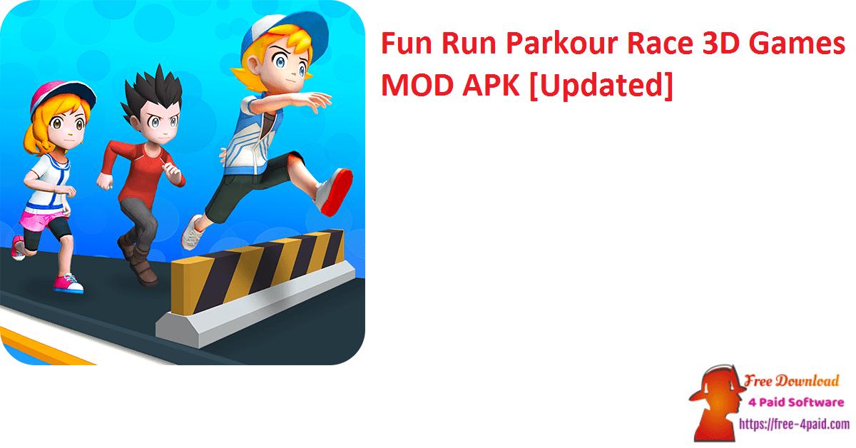 Fun Run Parkour Race 3D Games MOD APK [Updated]