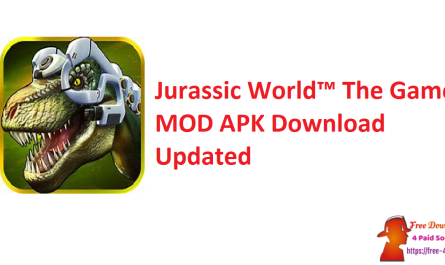Jurassic World™ The Game MOD APK Download Updated