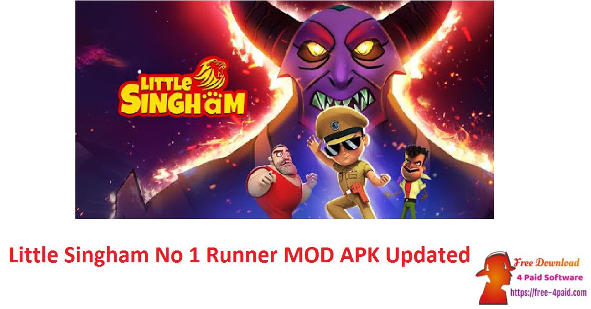 Little Singham No 1 Runner MOD APK Updated
