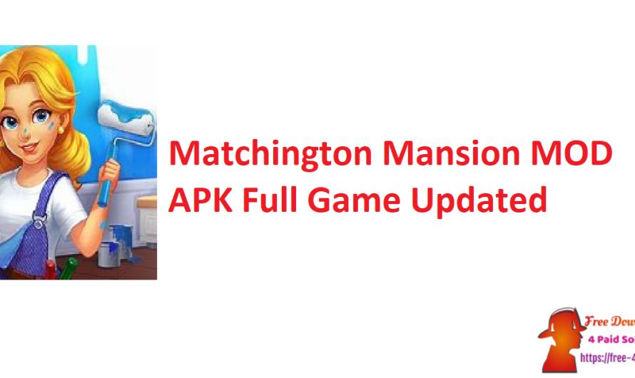 Matchington Mansion 1.97.0 Crack MOD APK Full Game [Updated]