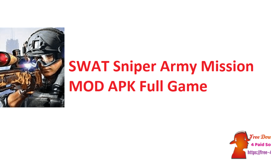 SWAT Sniper Army Mission 1.3 MOD APK Full Game