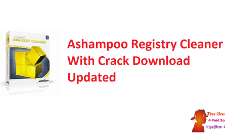 Ashampoo Registry Cleaner With Crack Download Updated
