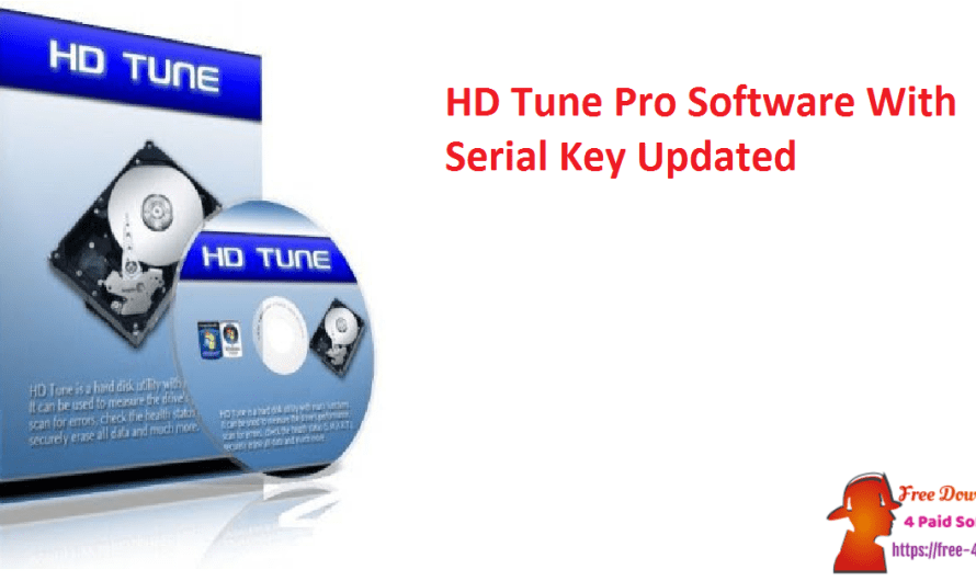 HD Tune Pro 5.80 Software With Serial Key [Updated]