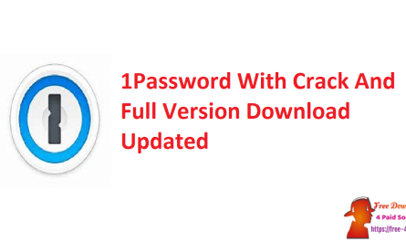 1Password With Crack And Full Version Download Updated