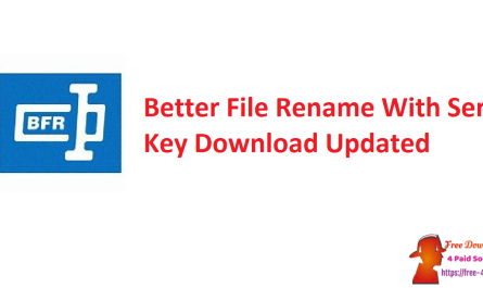 Better File Rename With Serial Key Download Updated