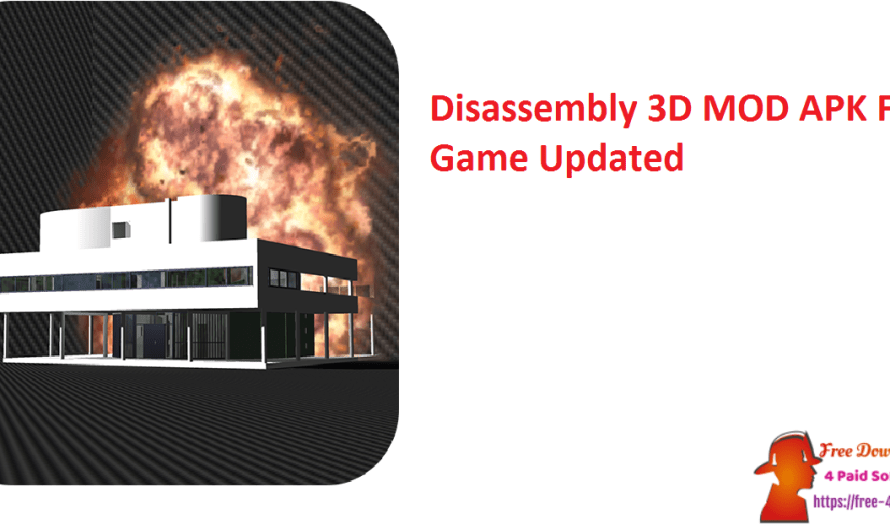 Disassembly 3D 2.7.3 Crack MOD APK Free Game Full Download [Updated]