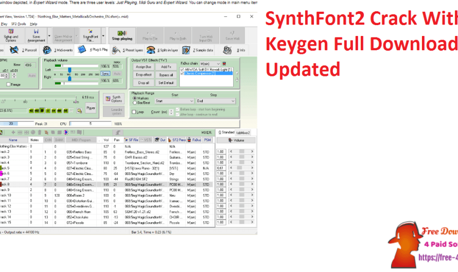 SynthFont2 2.5.0.2 Crack With Keygen Full Download [Updated]