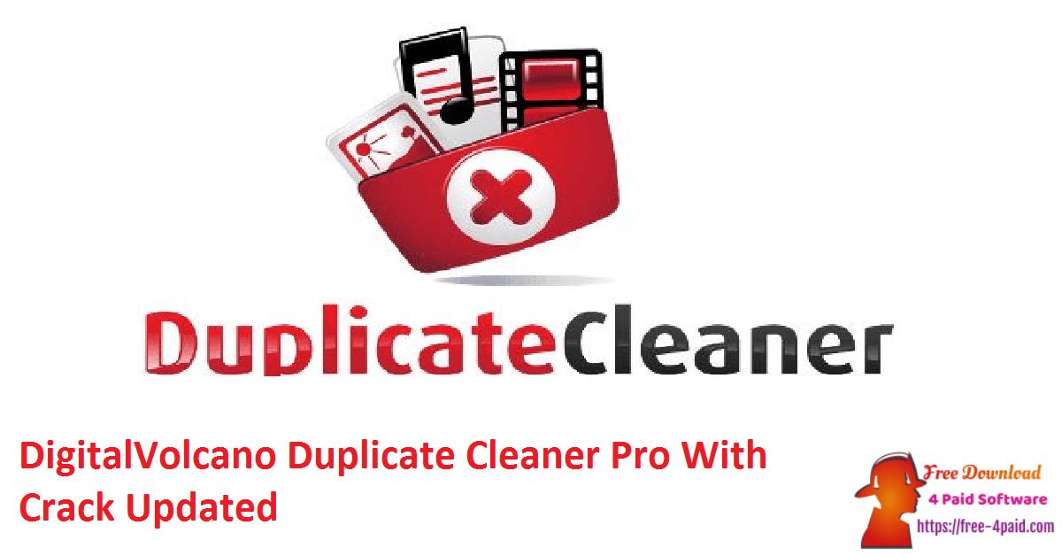 DigitalVolcano Duplicate Cleaner Pro With Crack Updated