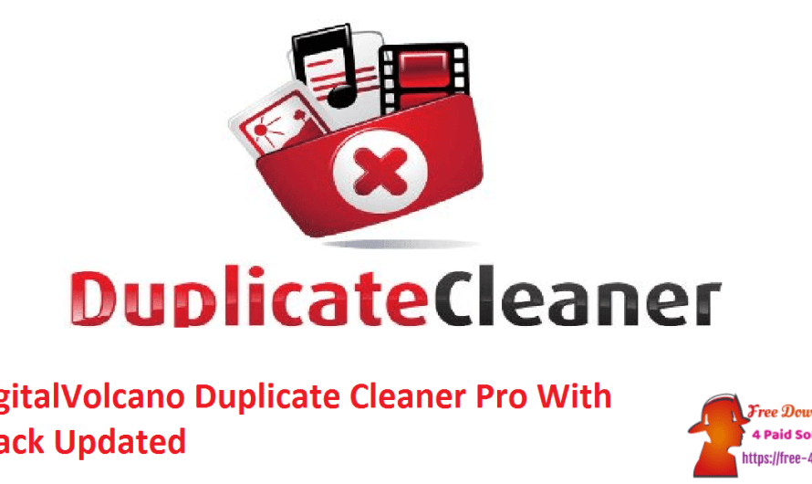 DigitalVolcano Duplicate Cleaner Pro 5.12.0.1235 With Crack [Updated]