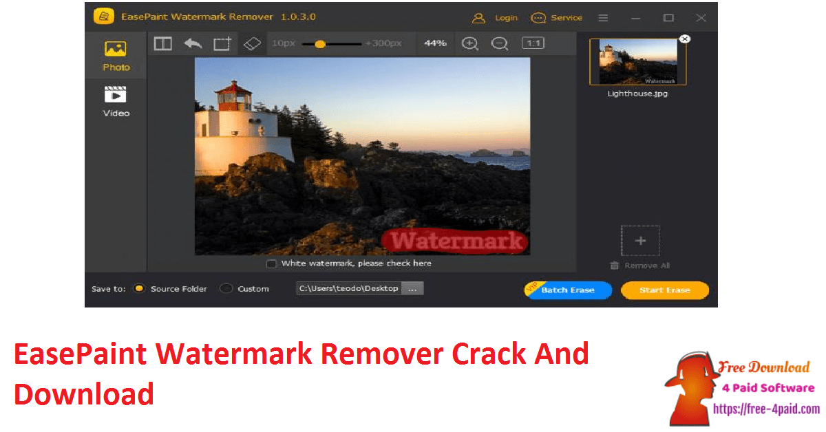 EasePaint Watermark Remover Crack And Download