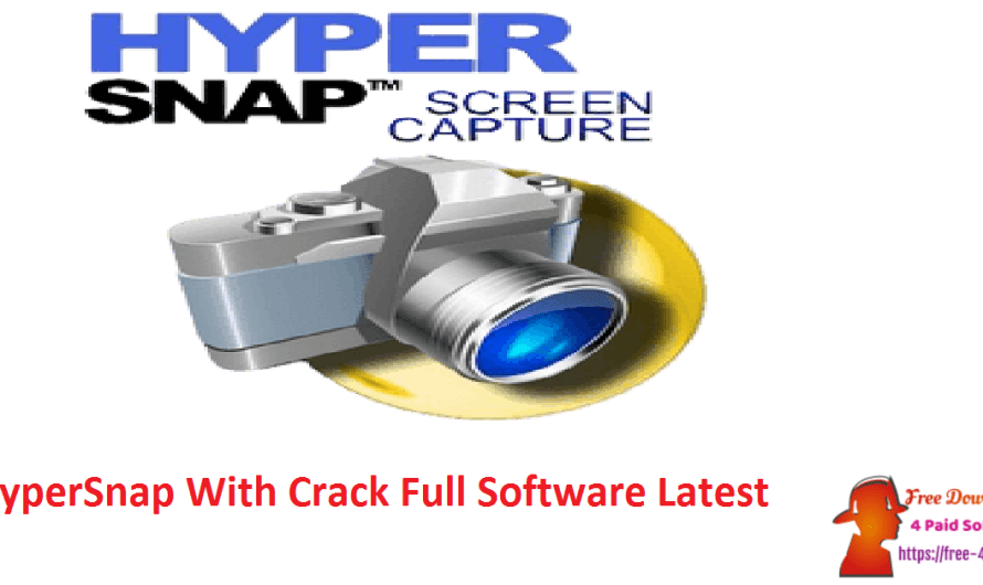 HyperSnap 8.17.00 With Crack Full Software [Latest]