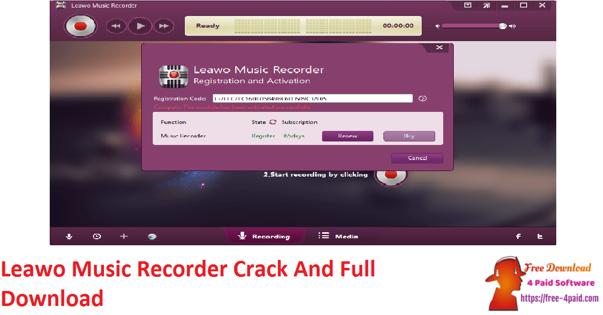 Leawo Music Recorder Crack And Full Download
