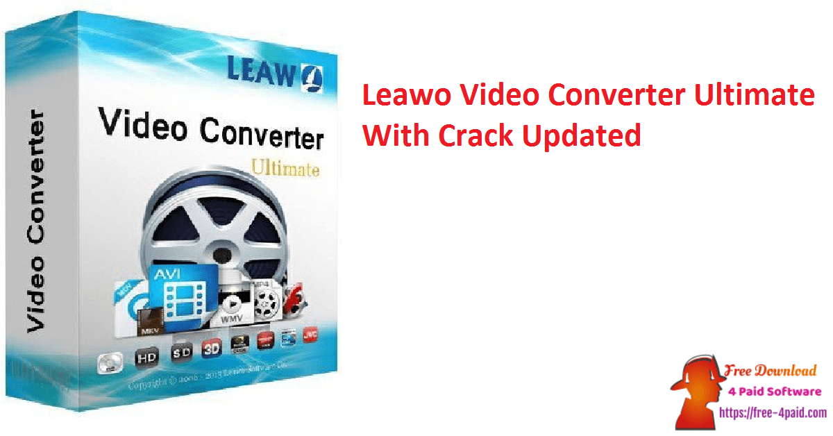 Leawo Video Converter Ultimate With Crack Updated