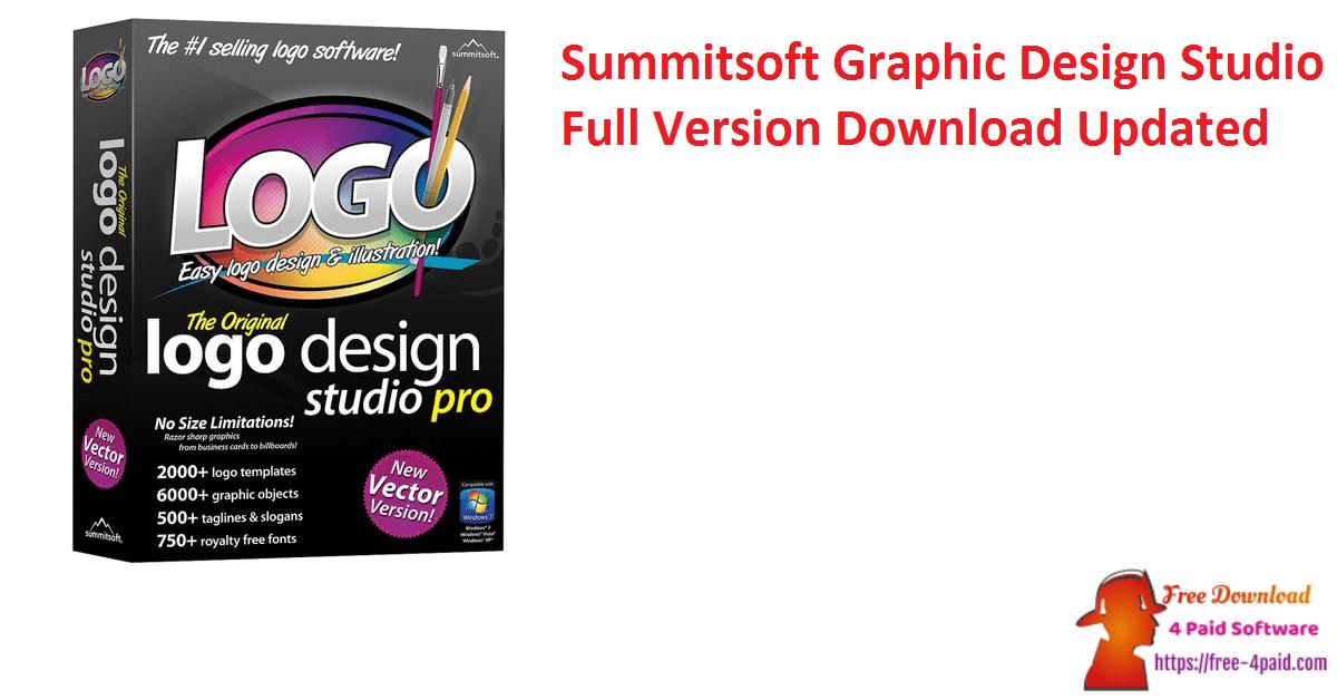 Summitsoft Graphic Design Studio Full Version Download Updated