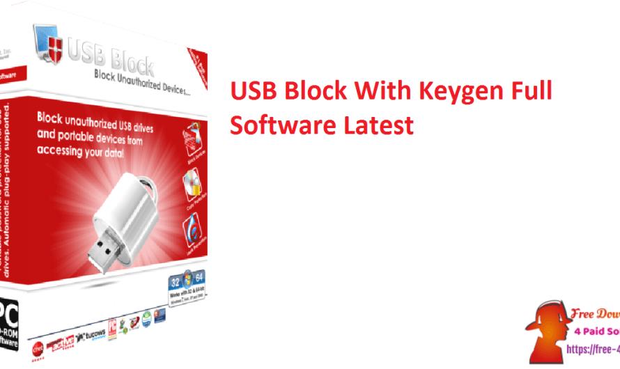 USB Block 1.7.9 With Keygen Full Software [Latest]