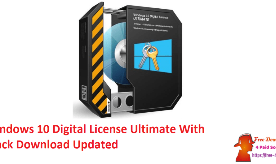 Windows 10 Digital License Ultimate 1.6 With Crack Download [Updated]