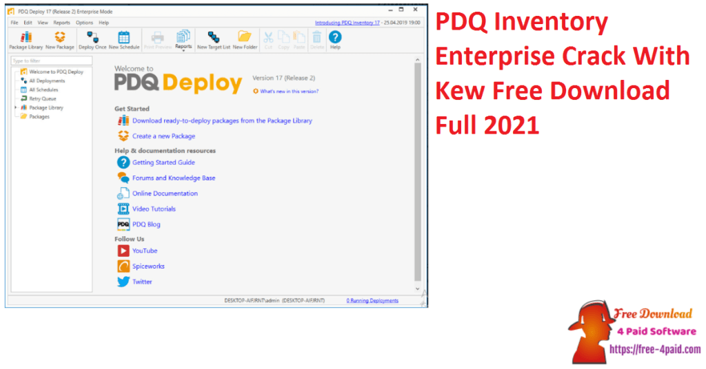 PDQ Inventory Enterprise Crack With Kew Free Download Full 2021