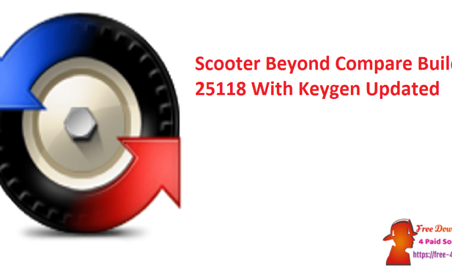 Scooter Beyond Compare 4.4.0 Build 25886 With Keygen [Updated]