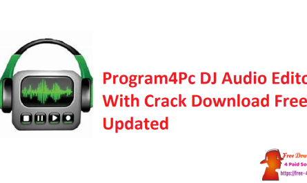 Program4Pc DJ Audio Editor With Crack Download Free Updated