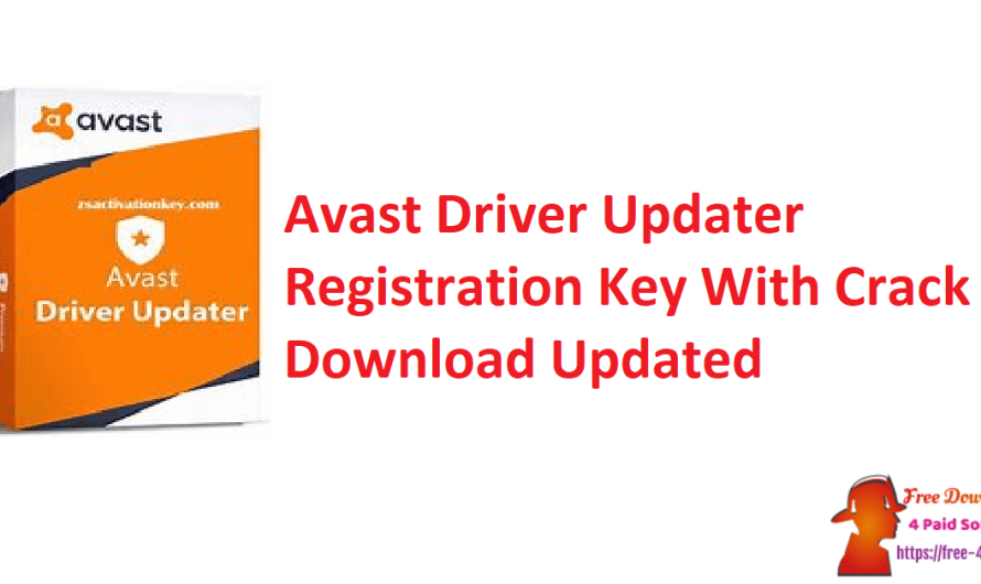 Avast Driver Updater 2.5.9 Activation Key + Free License Key [Updated]