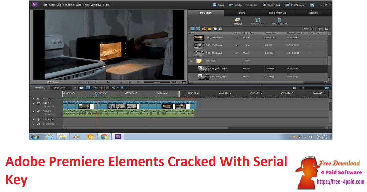 Adobe Premiere Elements Cracked With Serial Key