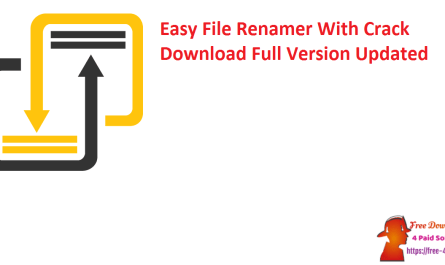 Easy File Renamer With Crack Download Full Version Updated