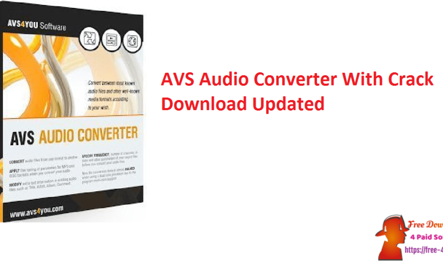 AVS Audio Converter 10.1.1.622 With Crack Download [Updated]