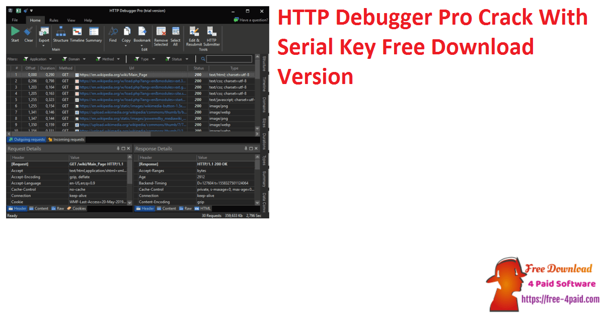 HTTP Debugger Pro Crack With Serial Key Free Download Version