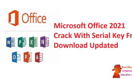 Microsoft Office 2021 Crack With Serial Key Free Download Updated