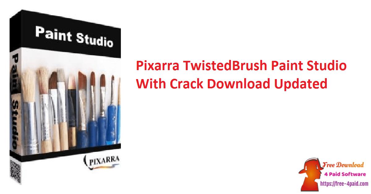Pixarra TwistedBrush Paint Studio With Crack Download Updated