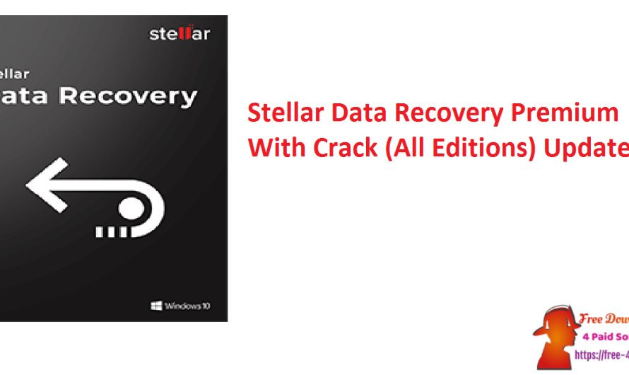 Stellar Data Recovery Premium 10.1.0.0 With Crack (All Editions) [Updated]