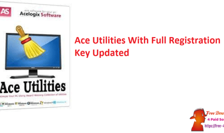 Ace Utilities With Full Registration Key Updated