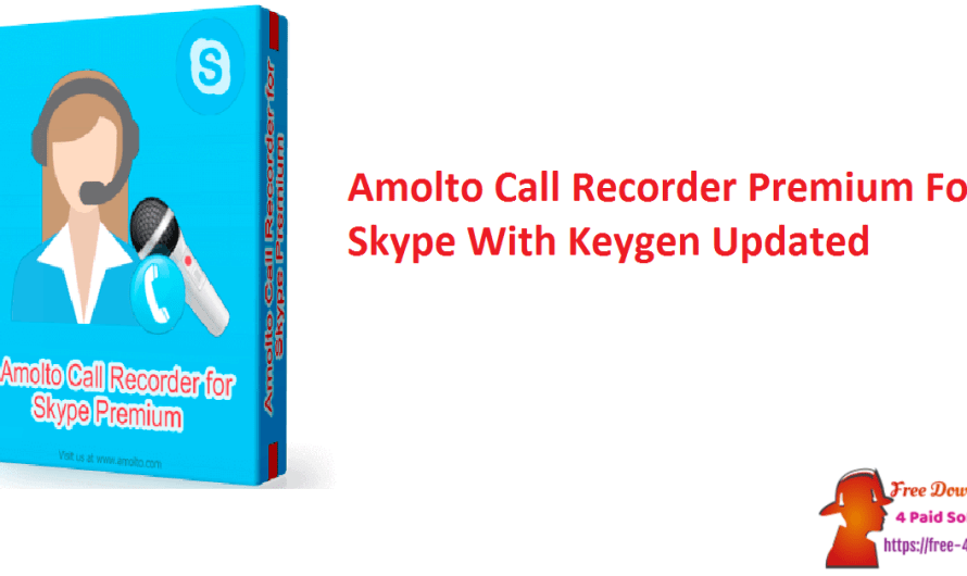 Amolto Call Recorder Premium For Skype 3.20.1.0 With Keygen [Updated]